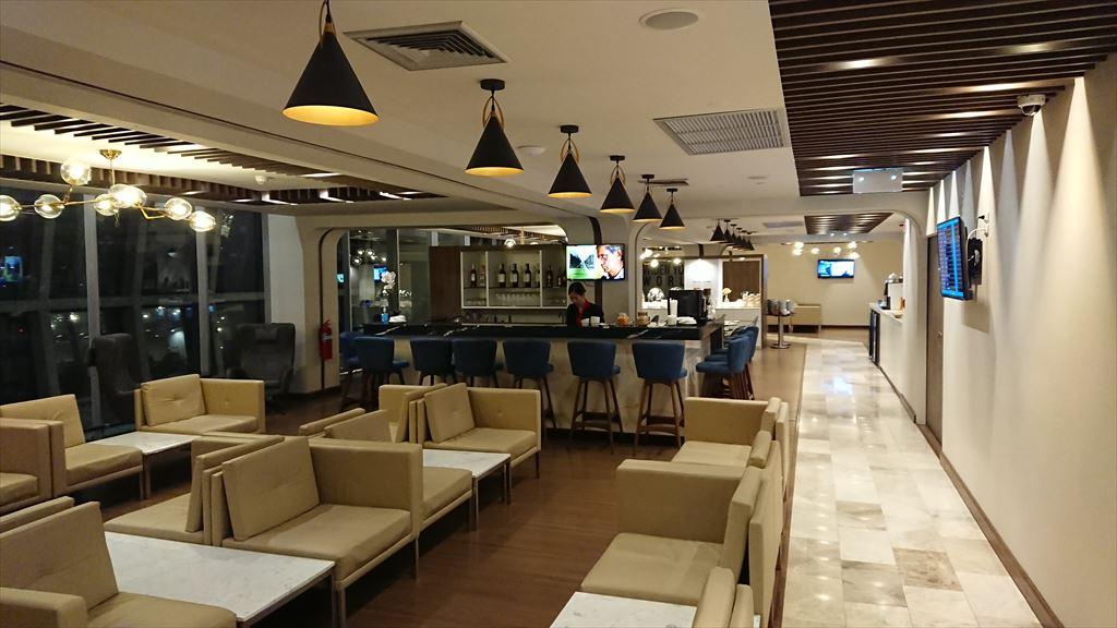 バンコク スワンナプーム国際空港 TURKISH AIRLINES LOUNGE