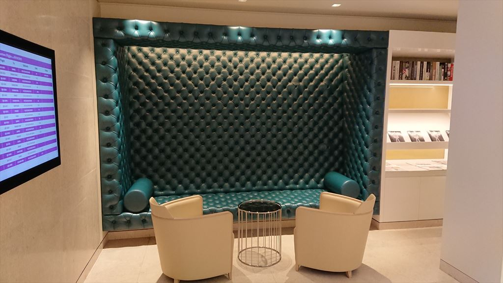 バンコク スワンナプーム国際空港 カタール航空 ビジネスクラスラウンジ
