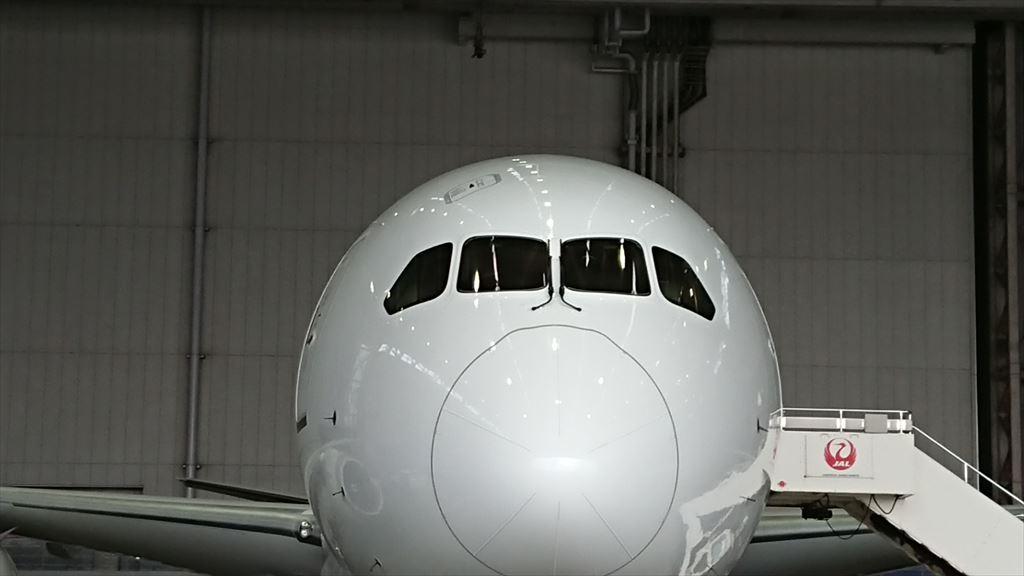 Discova 工場見学 ボーイングB787型機 国内線 見学会