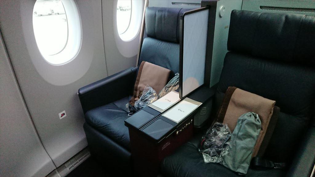 JL327 28OCT19 羽田 - 福岡 ファーストクラス A350