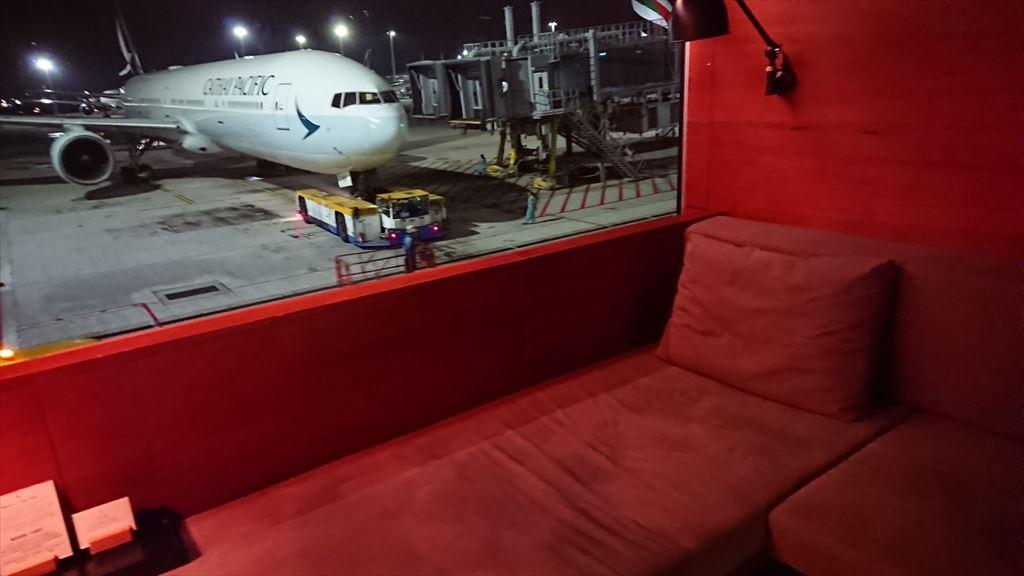 香港国際空港 キャセイパシフィック 「ザ・ピア」ファーストクラスラウンジ