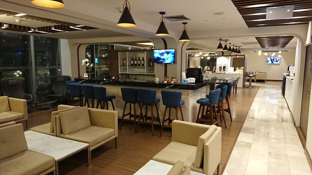 Turkish Airlines Lounge バンコク空港