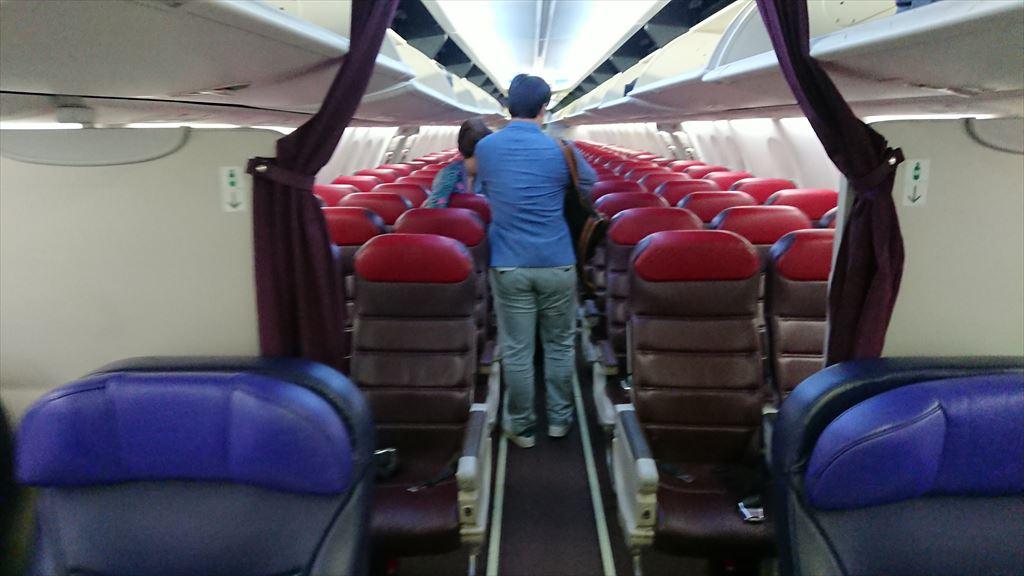 25NOV19 MH610 シンガポール~クアラルンプール Economy Class