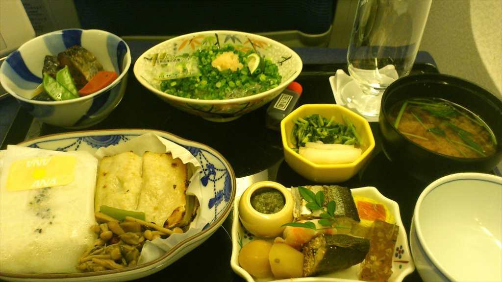 21SEP2012 NH931 成田~ホーチミン ビジネスクラス 機内食