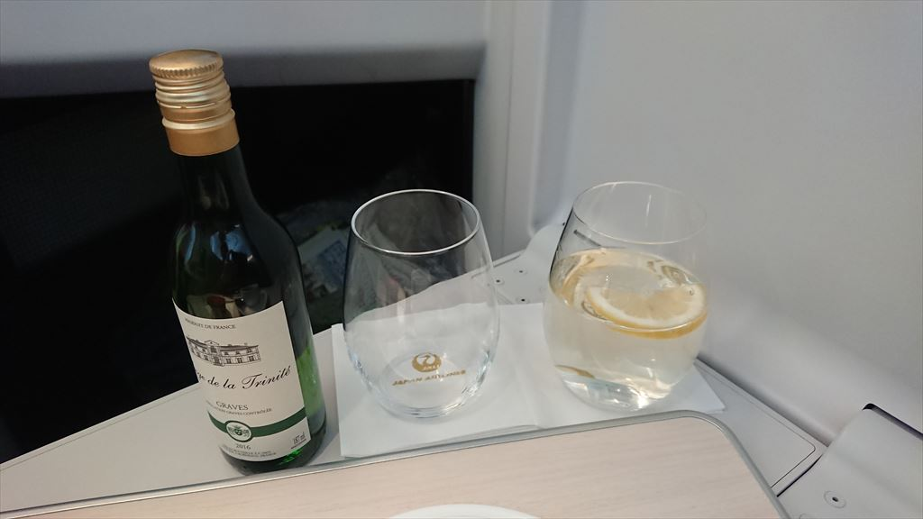 08JAN20 JL091 羽田 - ソウル(金浦)ビジネスクラス 機内食