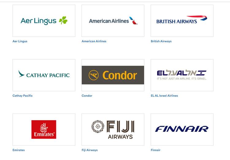アラスカ航空にマイルが貯まる航空会社2