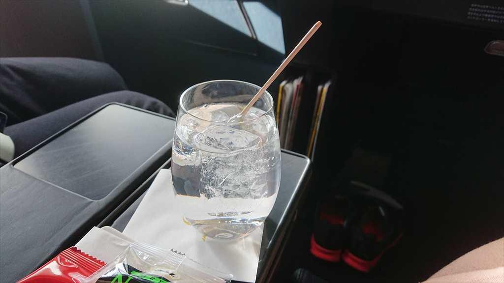 09FEB20 JL901 羽田-那覇 ファーストクラス 機内食