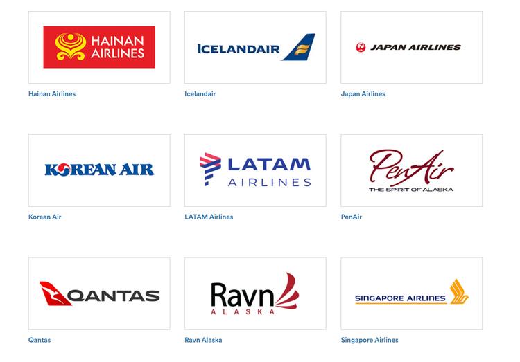 アラスカ航空にマイルが貯まる航空会社1