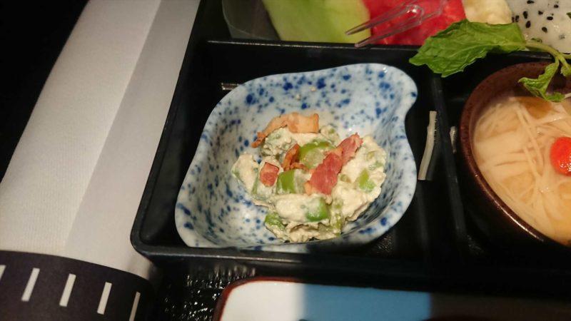 JAL JL034 バンコク - 羽田 ビジネスクラス機内食