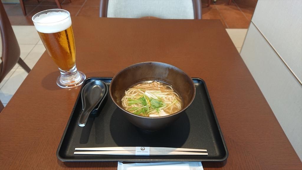 JAL's Table AFURI柚子塩ラーメン