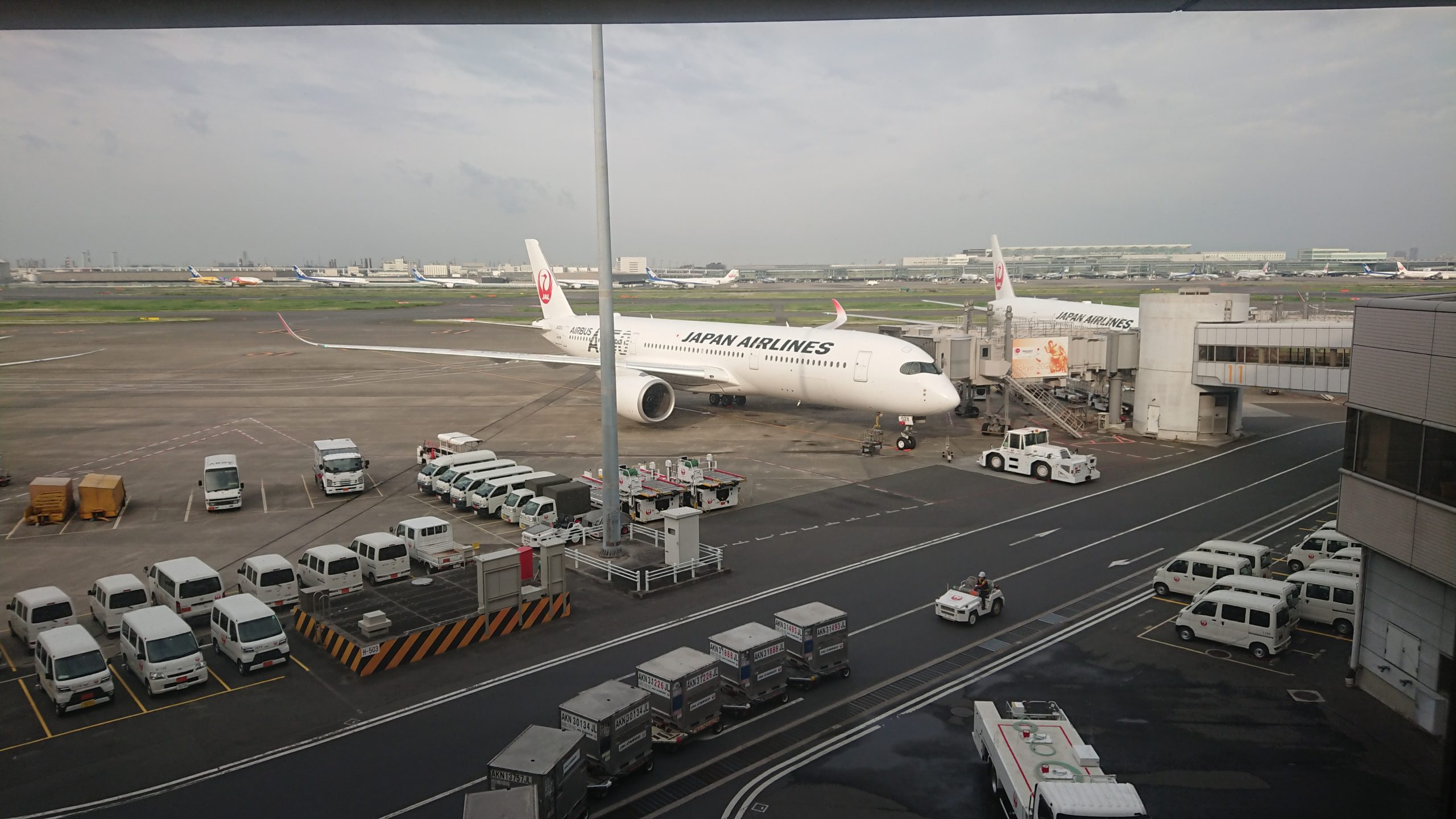 羽田空港 第一ターミナル 南ウィング JAL DIAMOND PREMIER LOUNGE 20年05月訪問