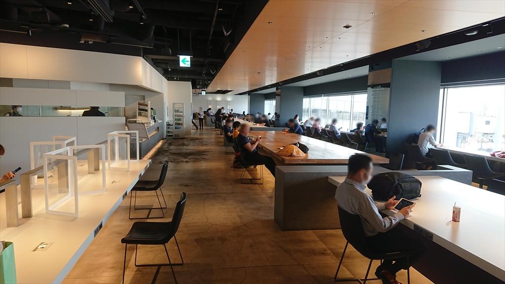 羽田空港 国内線第一ターミナル 南ウィング POWER LOUNGE 20年6月訪問