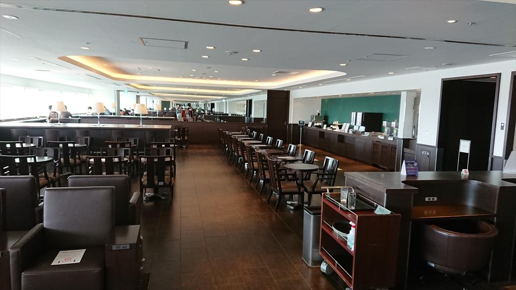 羽田空港 第一ターミナル 南ウィング JAL サクララウンジ Sakura Lounge 20年06月訪問
