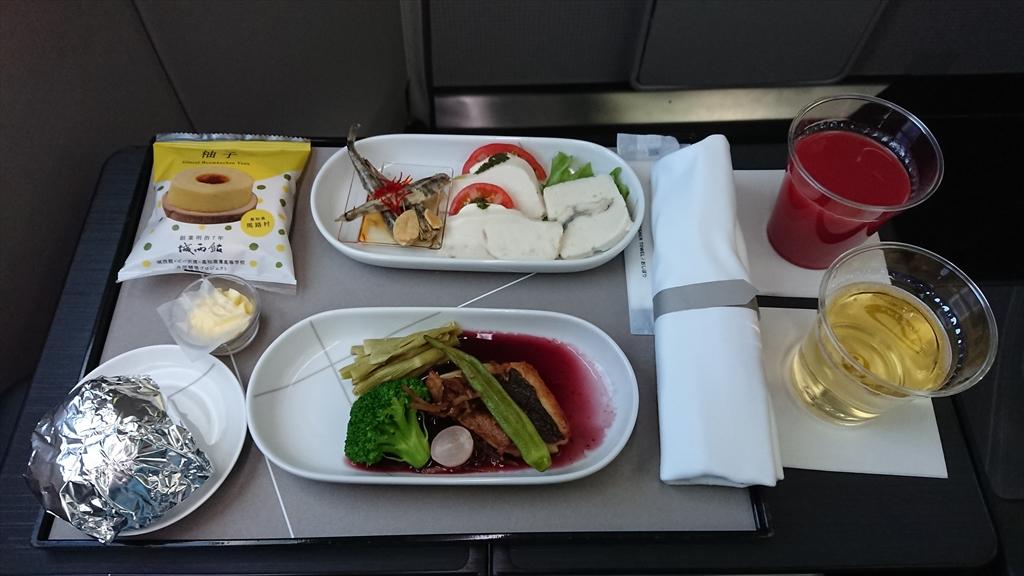 20JUN20 JL327 羽田 ~ 福岡 ファーストクラス 機内食