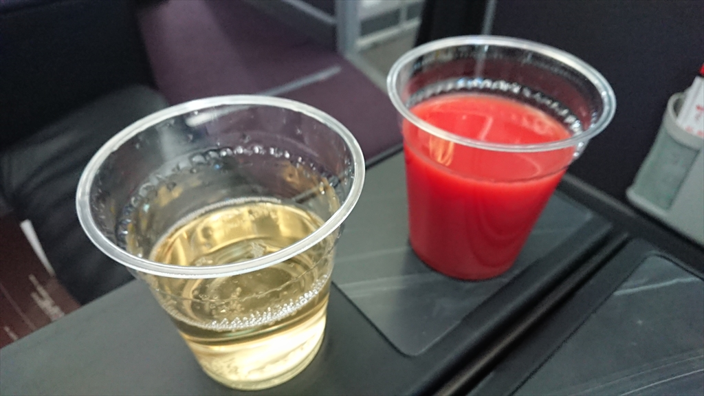 21JUN20 JL324 福岡 ~ 羽田 ファーストクラス 機内食