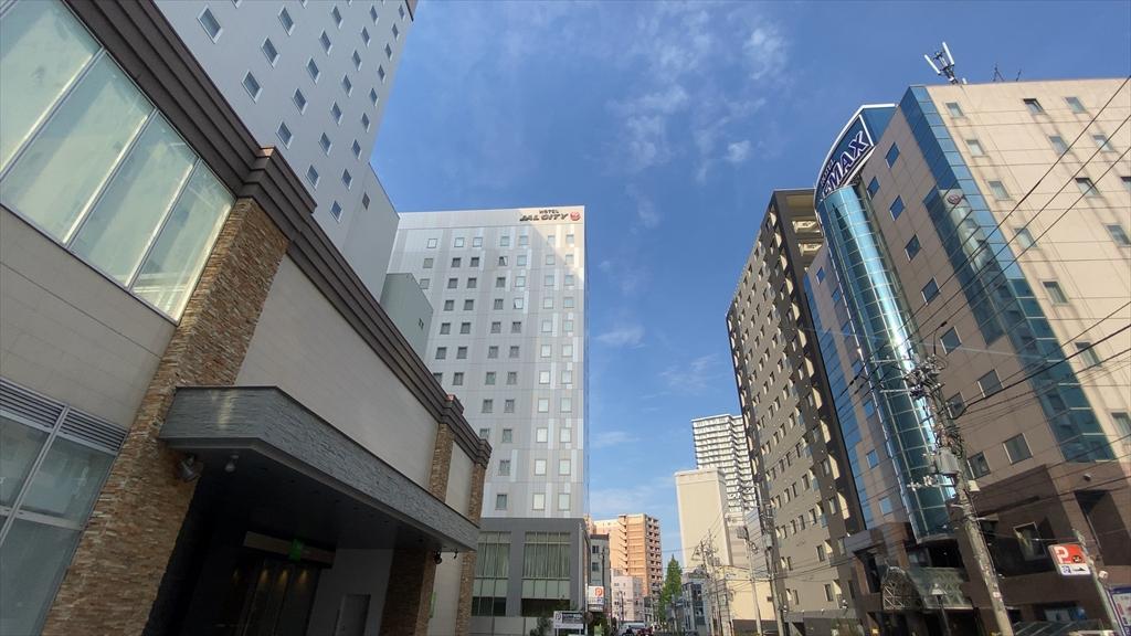 ホテルJALシティ札幌中島公園 宿泊記 2020年7月滞在