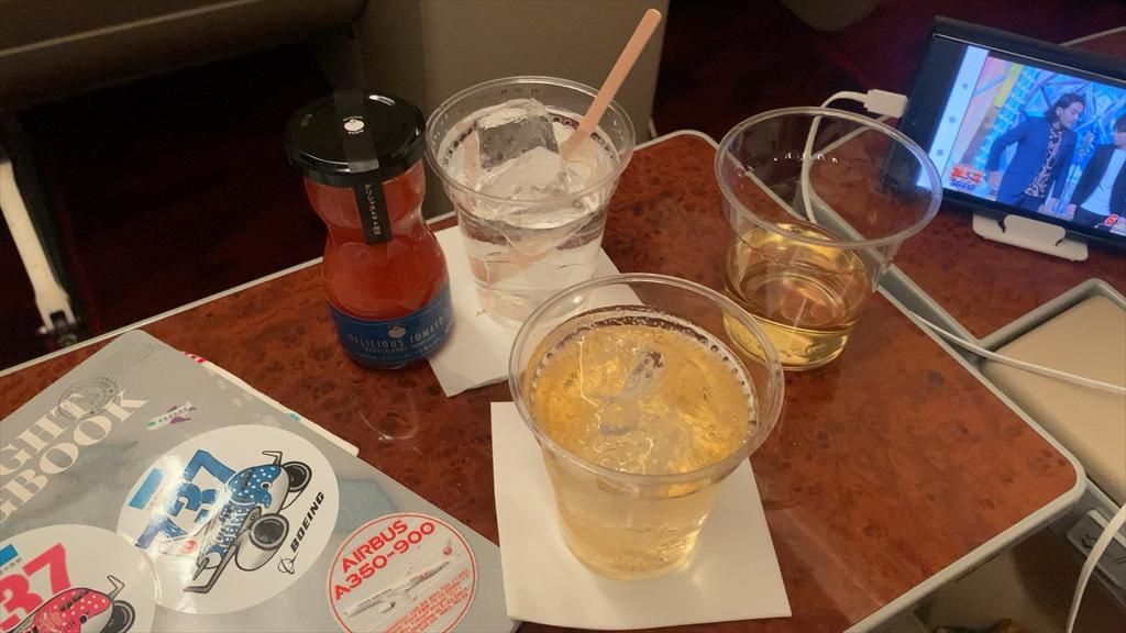 21JUL20 JL330 福岡 ~ 羽田 ファーストクラス 機内食