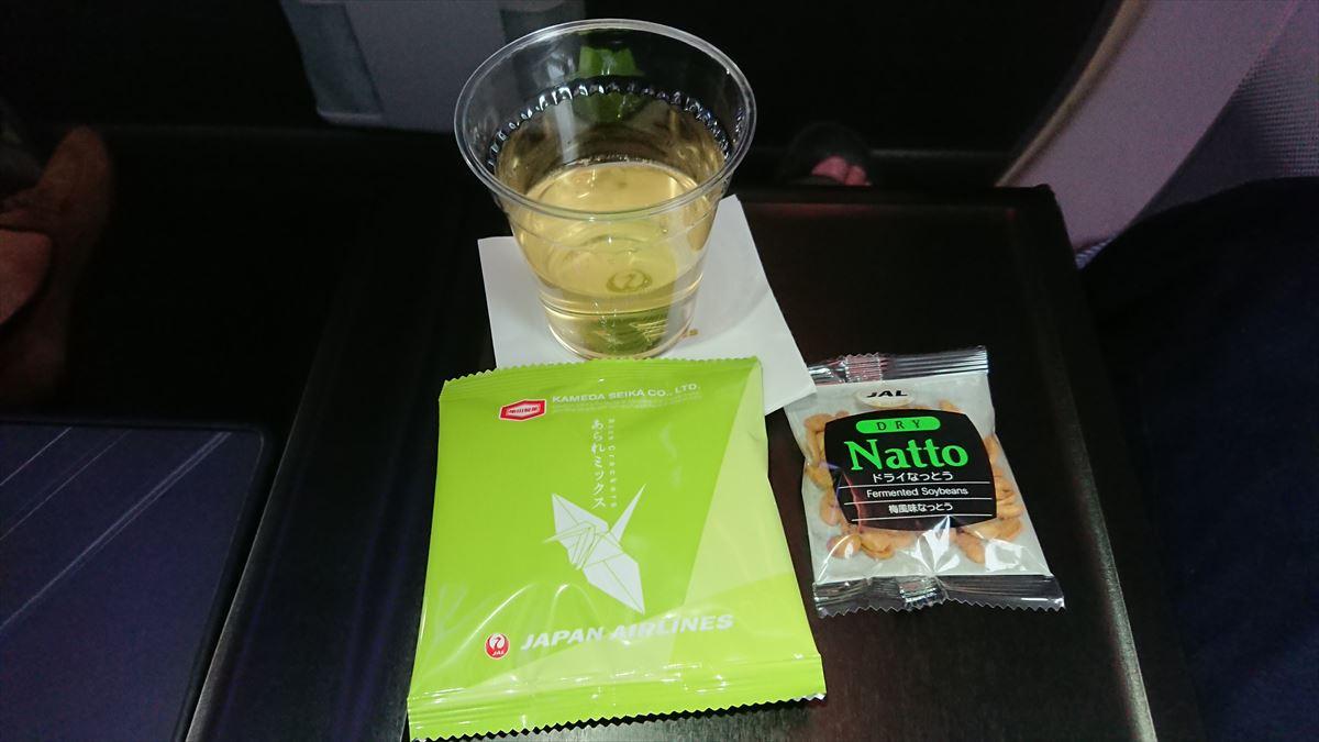 20JUL20 JL305 羽田 ~ 福岡 ファーストクラス 機内食