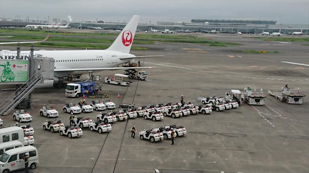 羽田空港 第一ターミナル 北ウィング JAL DIAMOND PREMIER LOUNGE 20年07月訪問