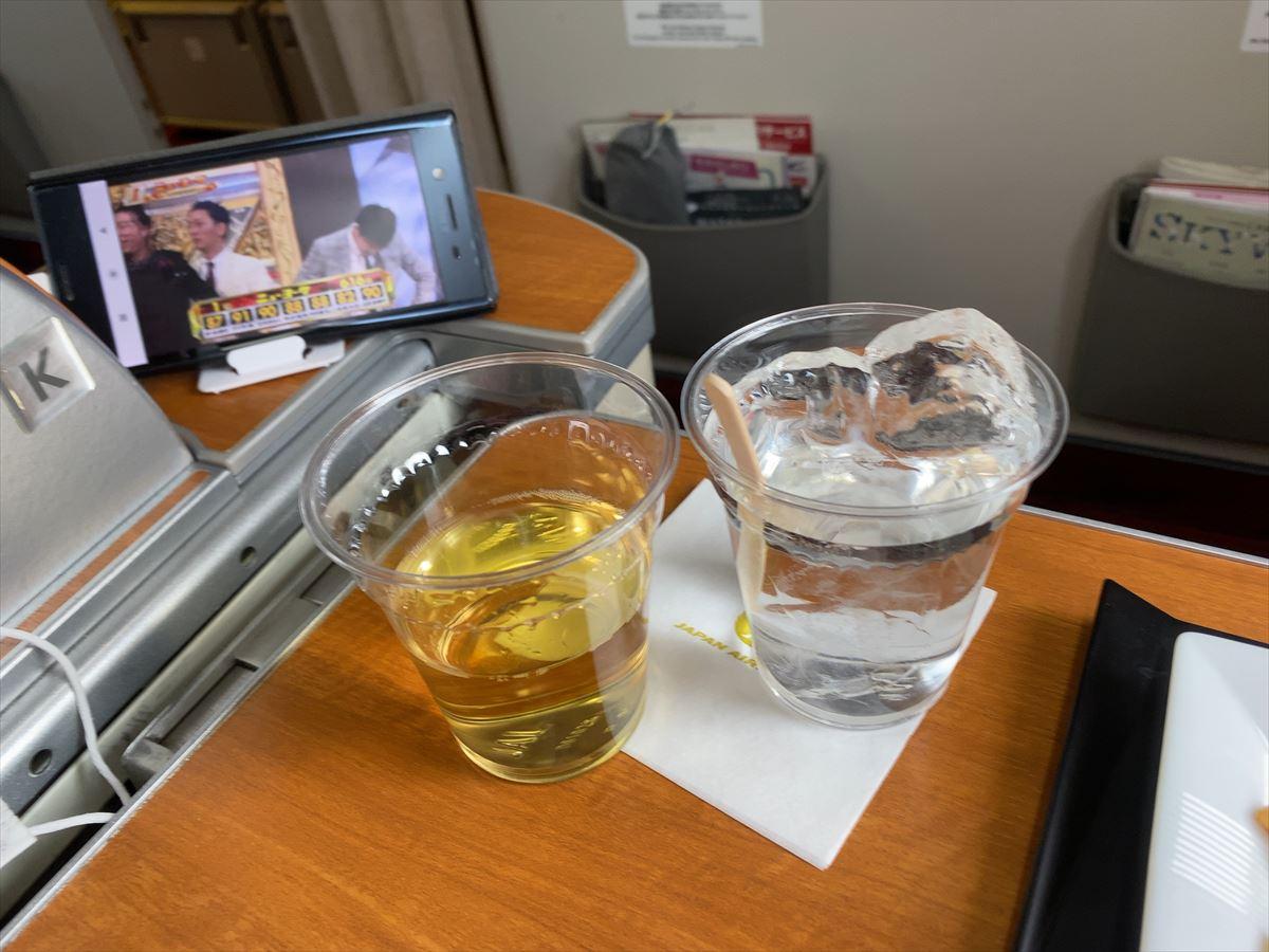 04JUL20 JL923 羽田 ~ 那覇 ファーストクラス 機内食