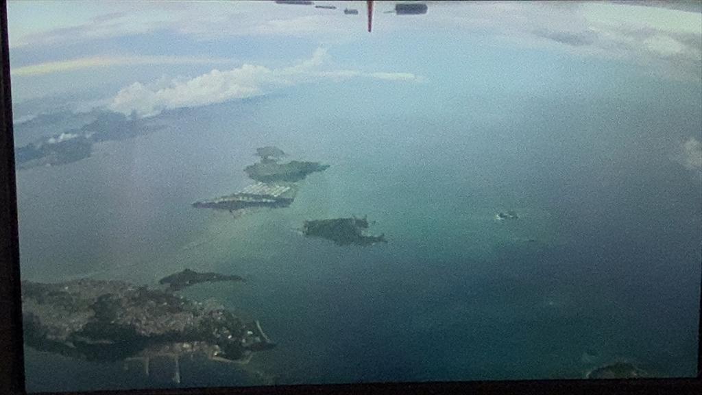 JL918 05JUL 沖縄~羽田 ファーストクラス