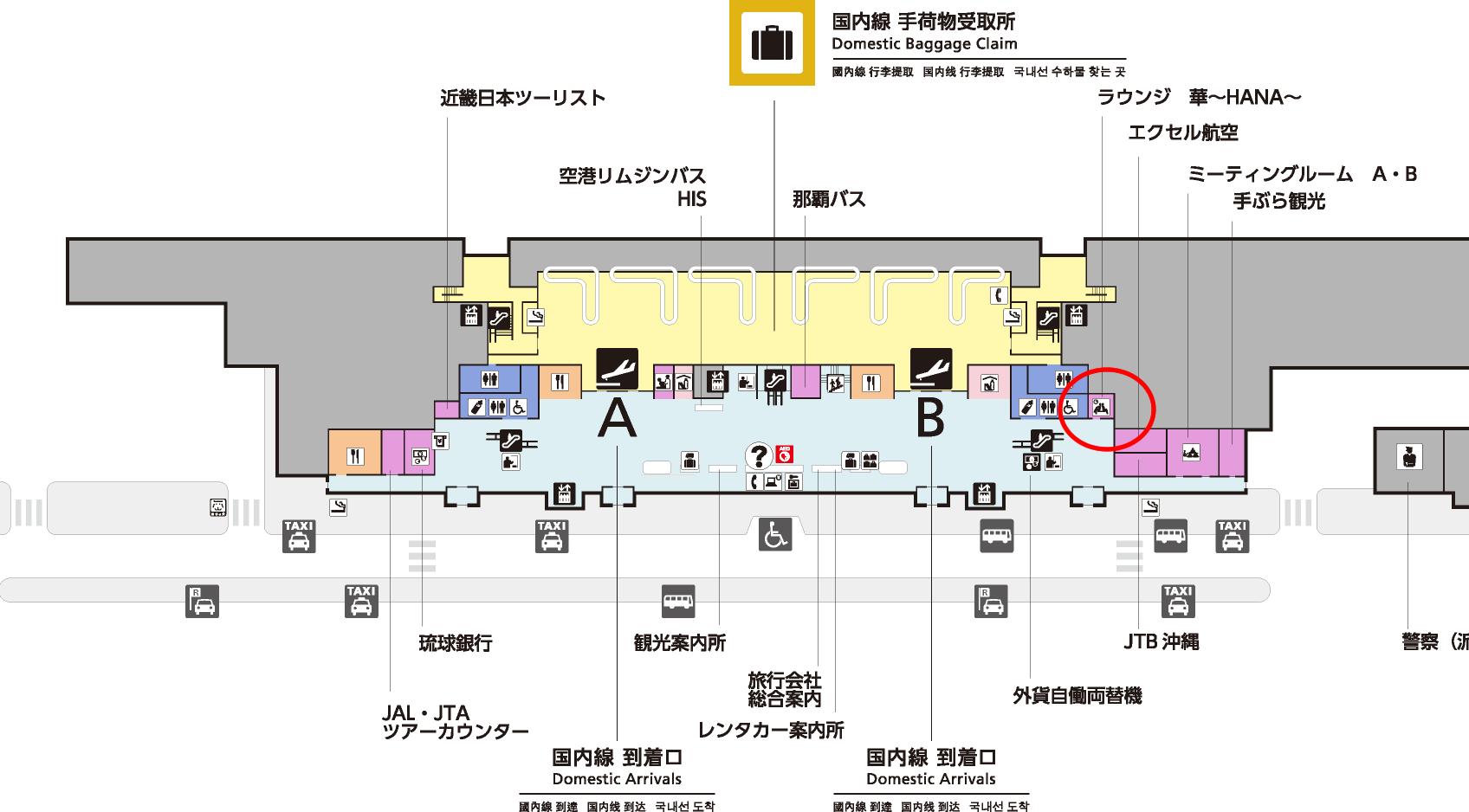 ラウンジ華MAP