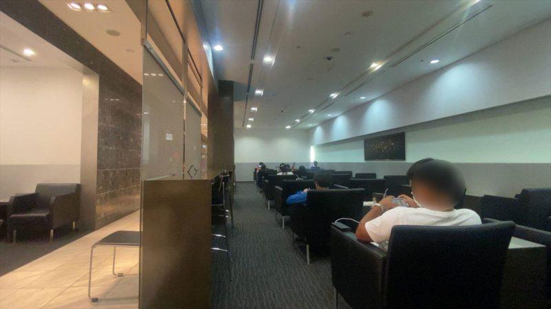 沖縄・那覇空港 ラウンジ 華 20年08月訪問