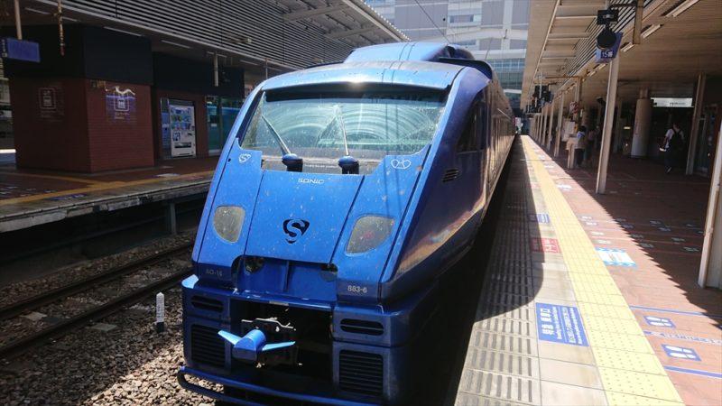 JR九州 883系車両