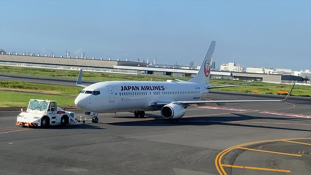 エアバスA350-900型機 JL305 羽田~福岡 ファーストクラス 搭乗記 29AUG20