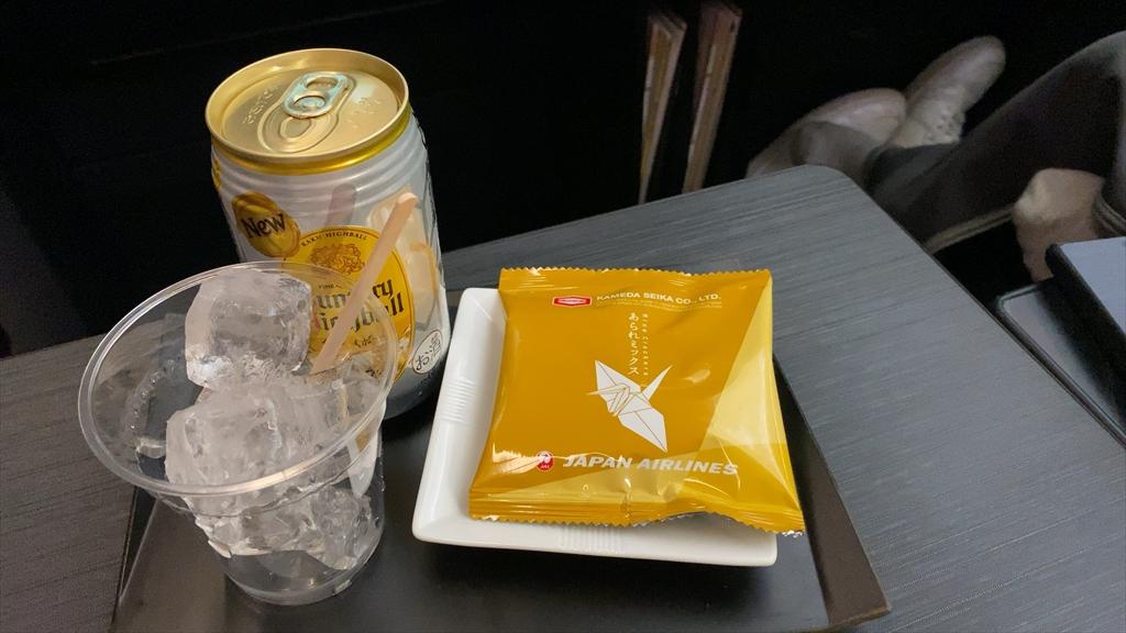 JAL JL918 沖縄(那覇)~羽田 ファーストクラス機内食 18OCT20