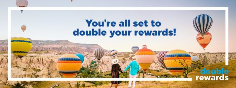 2020 Double Rewards Promotion