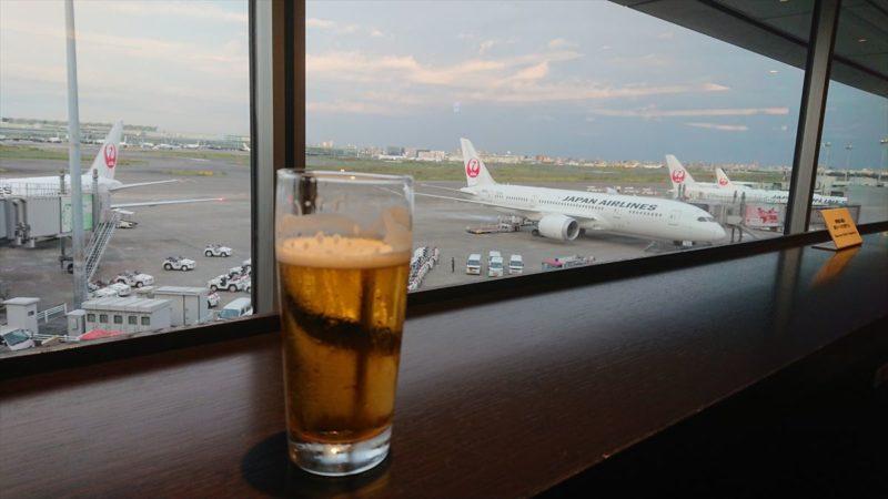 羽田空港 第一ターミナル 北ウィング JAL DIAMOND PREMIER LOUNGE 20年09月訪問