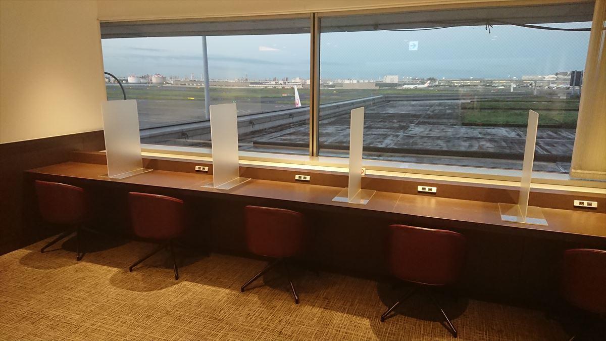 羽田空港 第一ターミナル 南ウィング JAL DIAMOND PREMIER LOUNGE 20年09月訪問