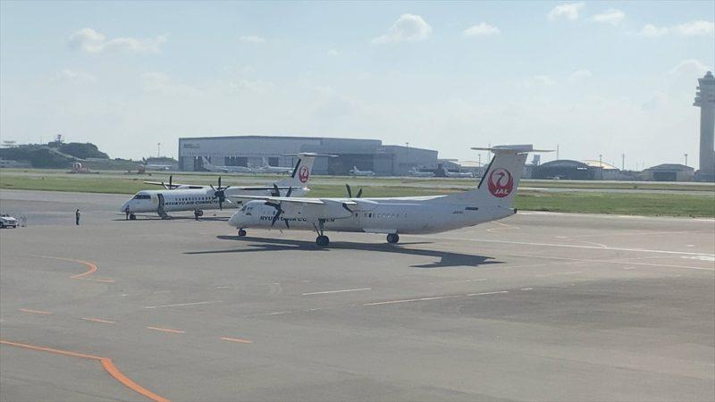 ボーイングB777-200型機 JL914 沖縄(那覇)~羽田 ファーストクラス 搭乗記 29SEP20