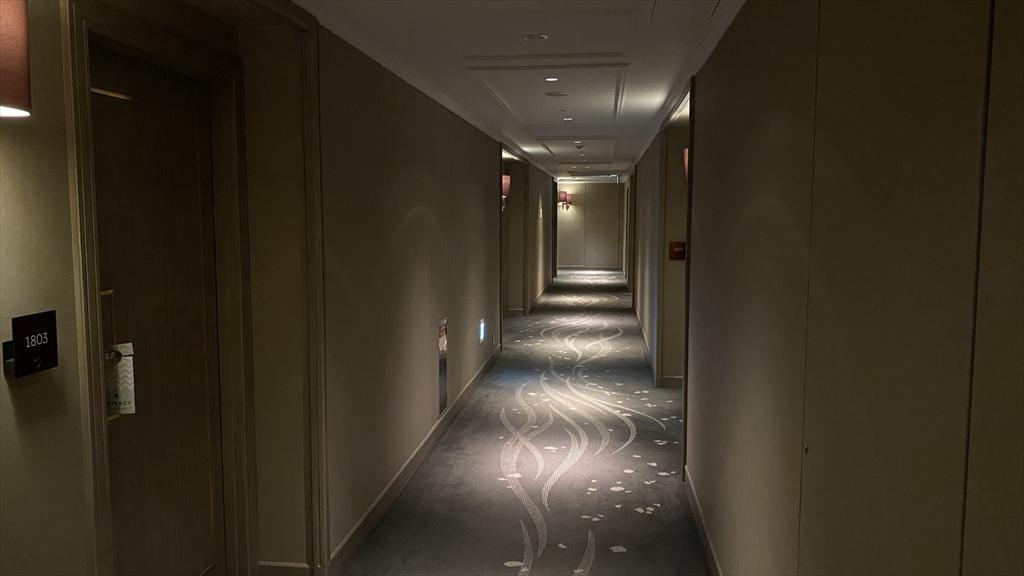 東京マリオットホテル 廊下