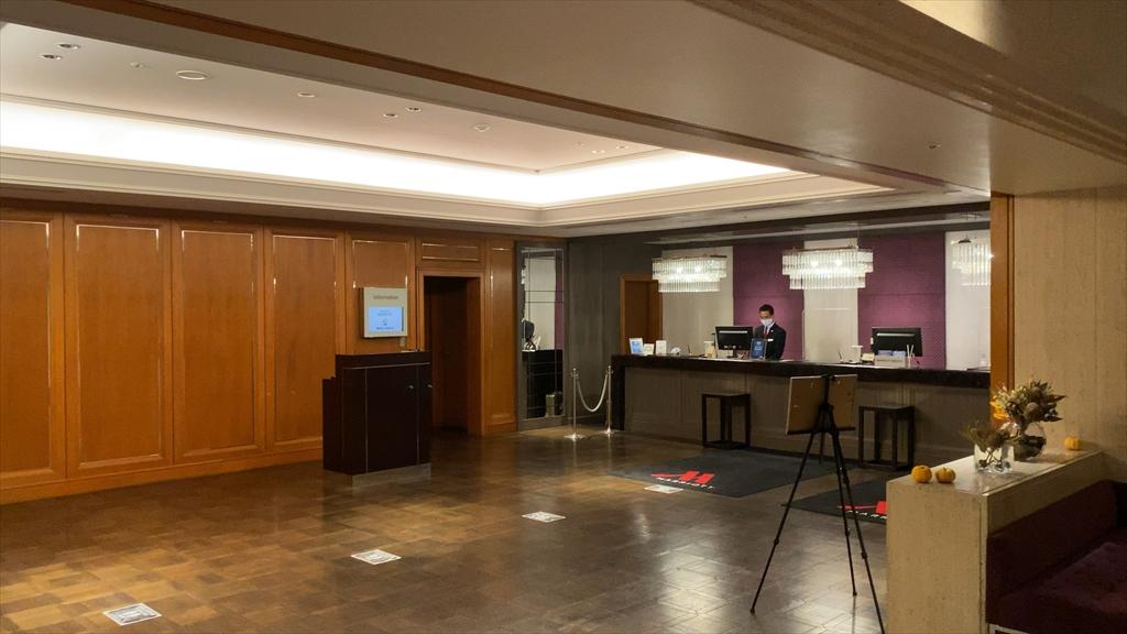 東京マリオットホテル レセプション