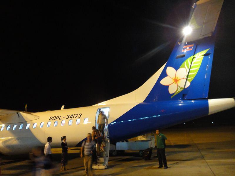 2010年12月 QV313 ハノイ~ルアンパバン 普通席