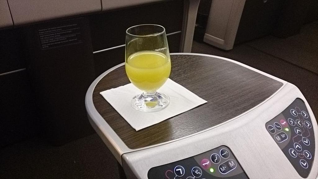 機内食回顧録シリーズ MH004便 クアラルンプール~パリ ビジネスクラス 2014.10