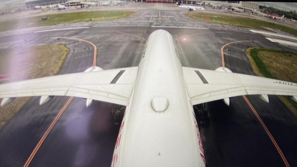 エアバスA350-900型機 JL901 羽田~沖縄(那覇) ファーストクラス 搭乗記 24DECT20