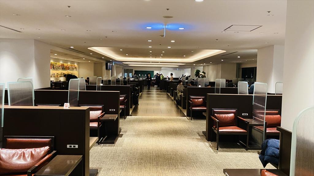 羽田空港 第一ターミナル 南ウィング JAL DIAMOND PREMIER LOUNGE 21年1月訪問
