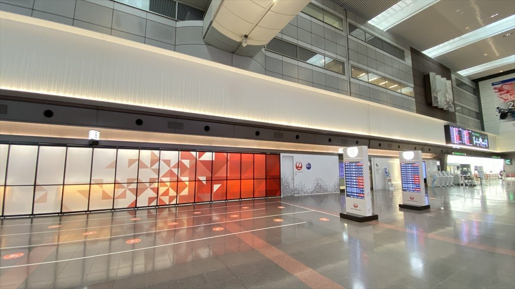 羽田空港 2021年1月 10時頃の様子