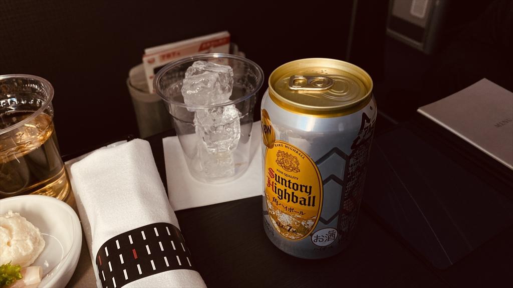 JAL JL325 羽田~福岡 ファーストクラス機内食 20JAN21