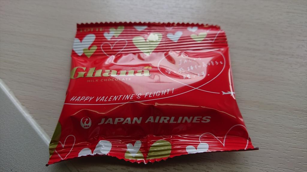 バレンタインデーチョコレート JAL