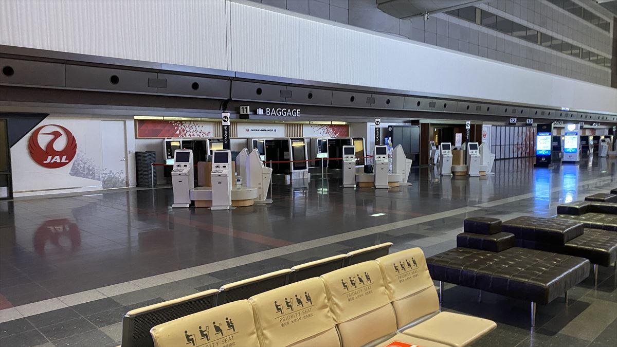 羽田空港 第一ターミナル 北ウィング JAL DIAMOND PREMIER LOUNGE 21年2月訪問