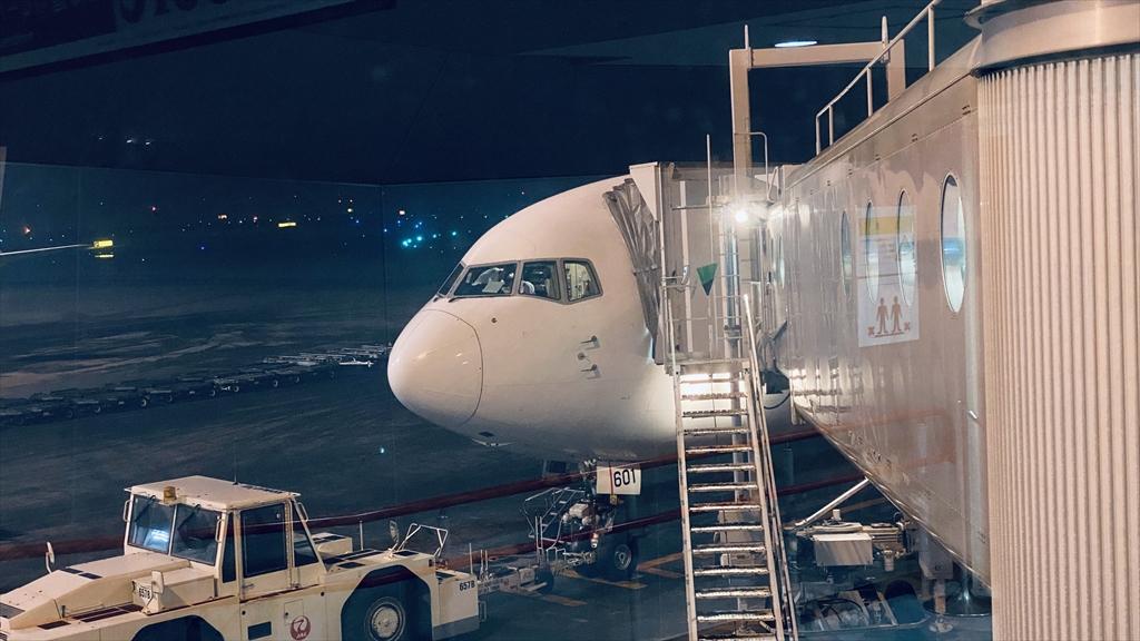ボーイングB767-300ER型機 JL528 札幌(新千歳)~羽田 ファーストクラス 搭乗記 14FEB21