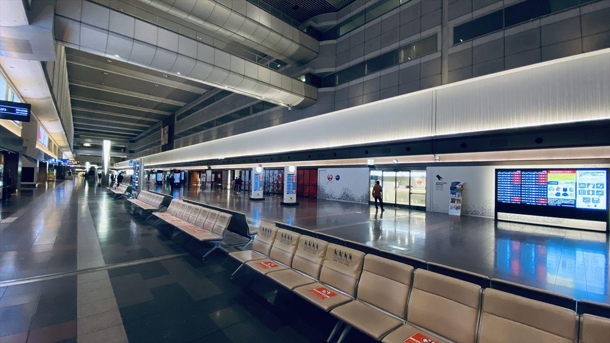 羽田空港 第一ターミナル 北ウィング JAL DIAMOND PREMIER LOUNGE 21年バレンタインデー訪問