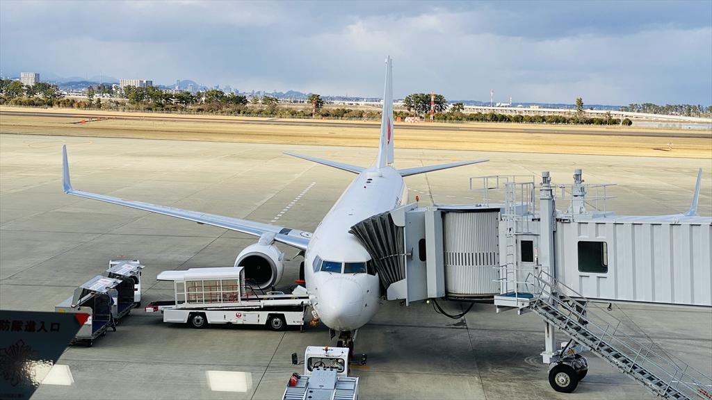 ボーイングB737-800型機 JL4724 仙台~羽田 クラスJ 搭乗記 19FEB21
