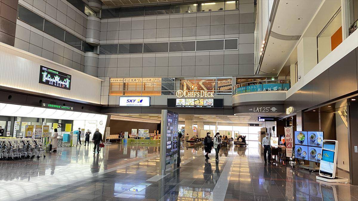 羽田空港ターミナルさんぽ@17mar21