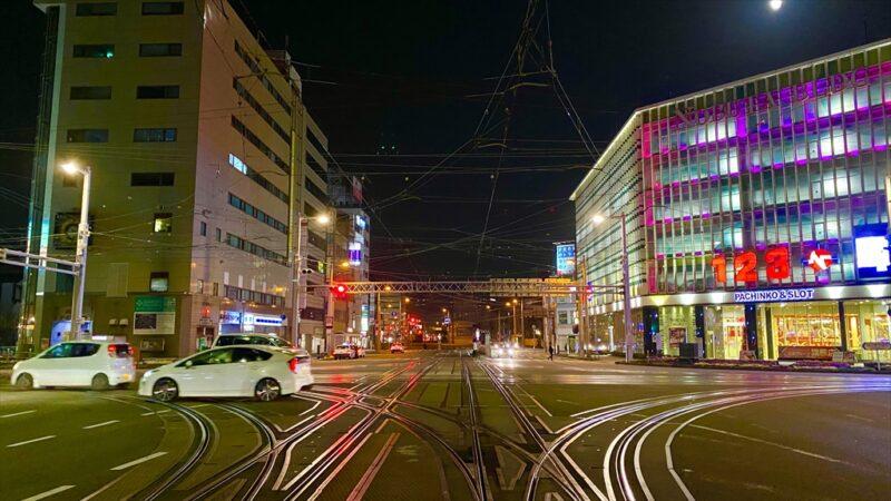高知市の夜を徘徊