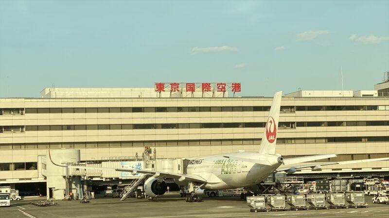 ボーイングB787-800型機 JL127 羽田~伊丹 ファーストクラス 搭乗記 12APR21
